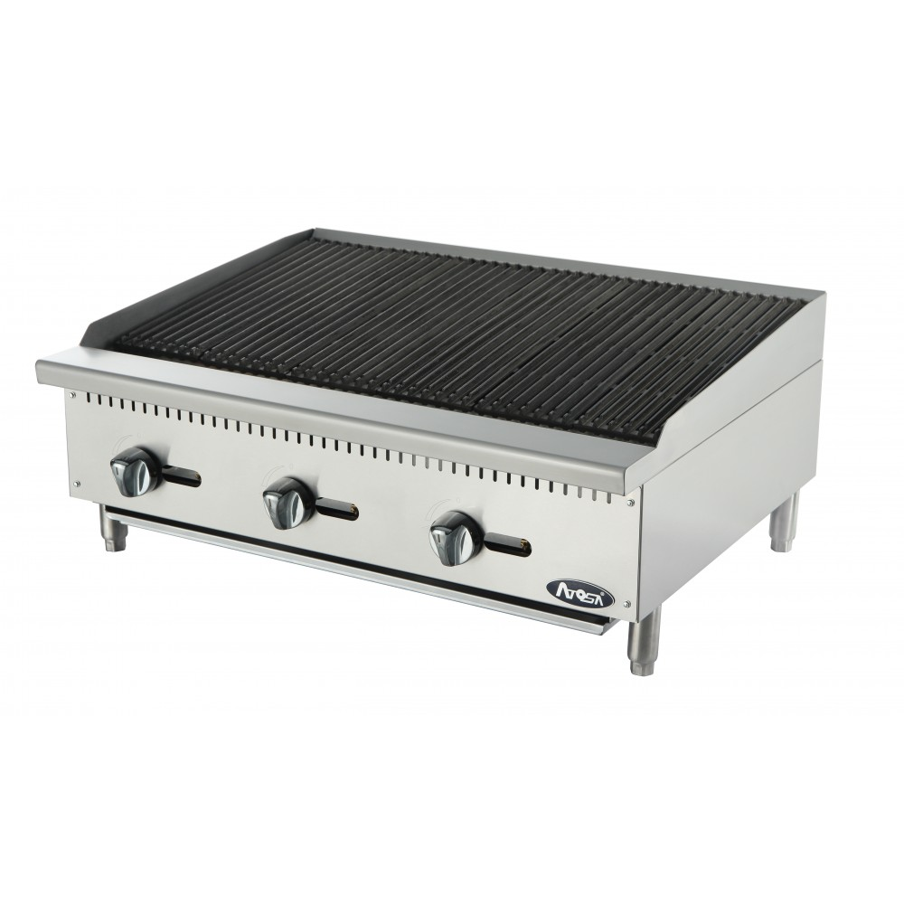Atosa ATRC-36 HD Heavy Duty Stainless Steel 36'' Radiant Broiler