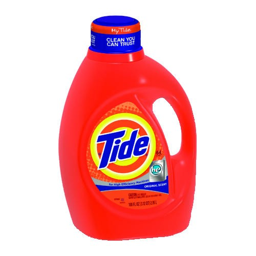 HE Laundry Detergent, Original Scent, Liquid, 3.1 qt. Bottle