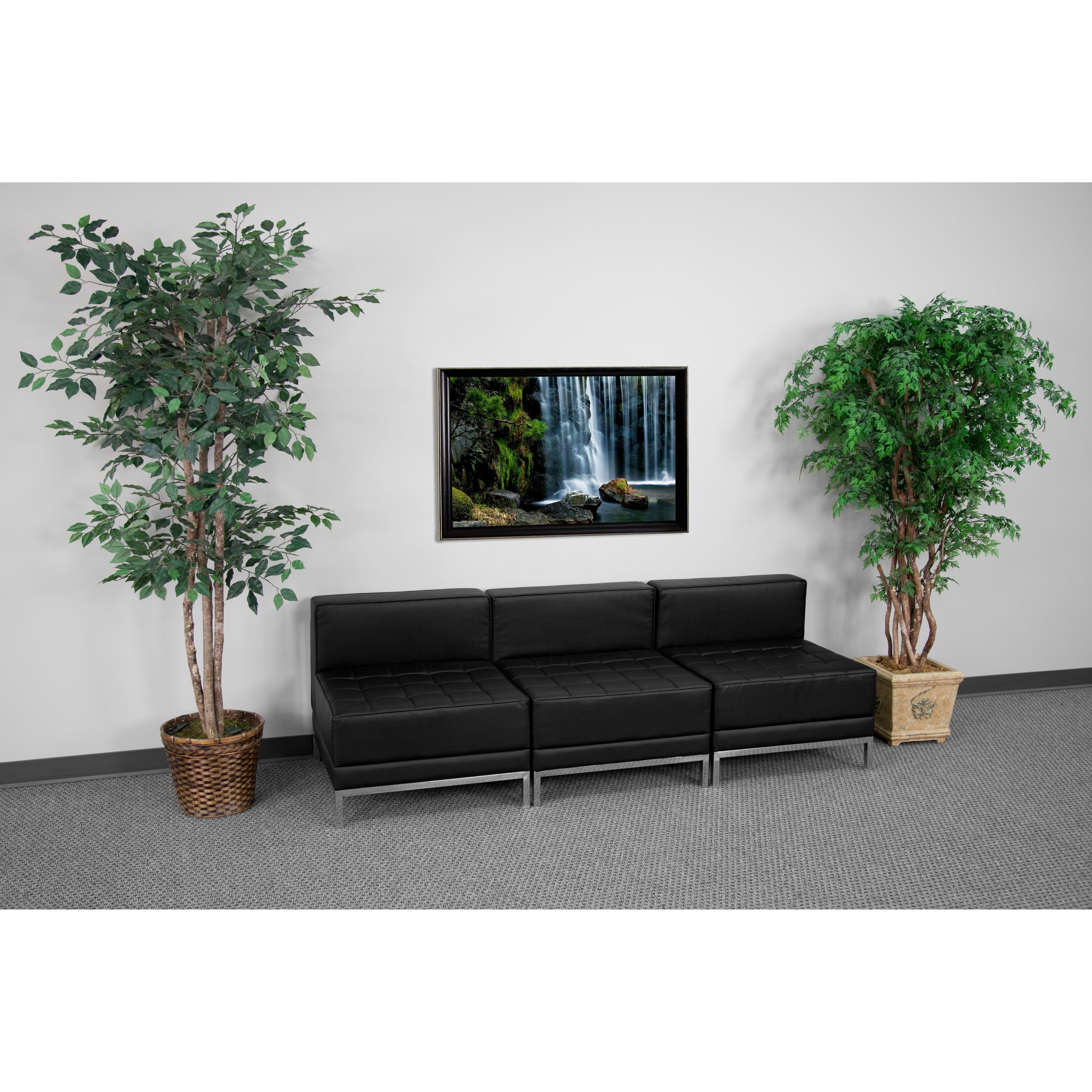 Flash Furniture ZB-IMAG-MIDCH-3-GG HERCULES Imagination Series Lounge Set, 3 Seats