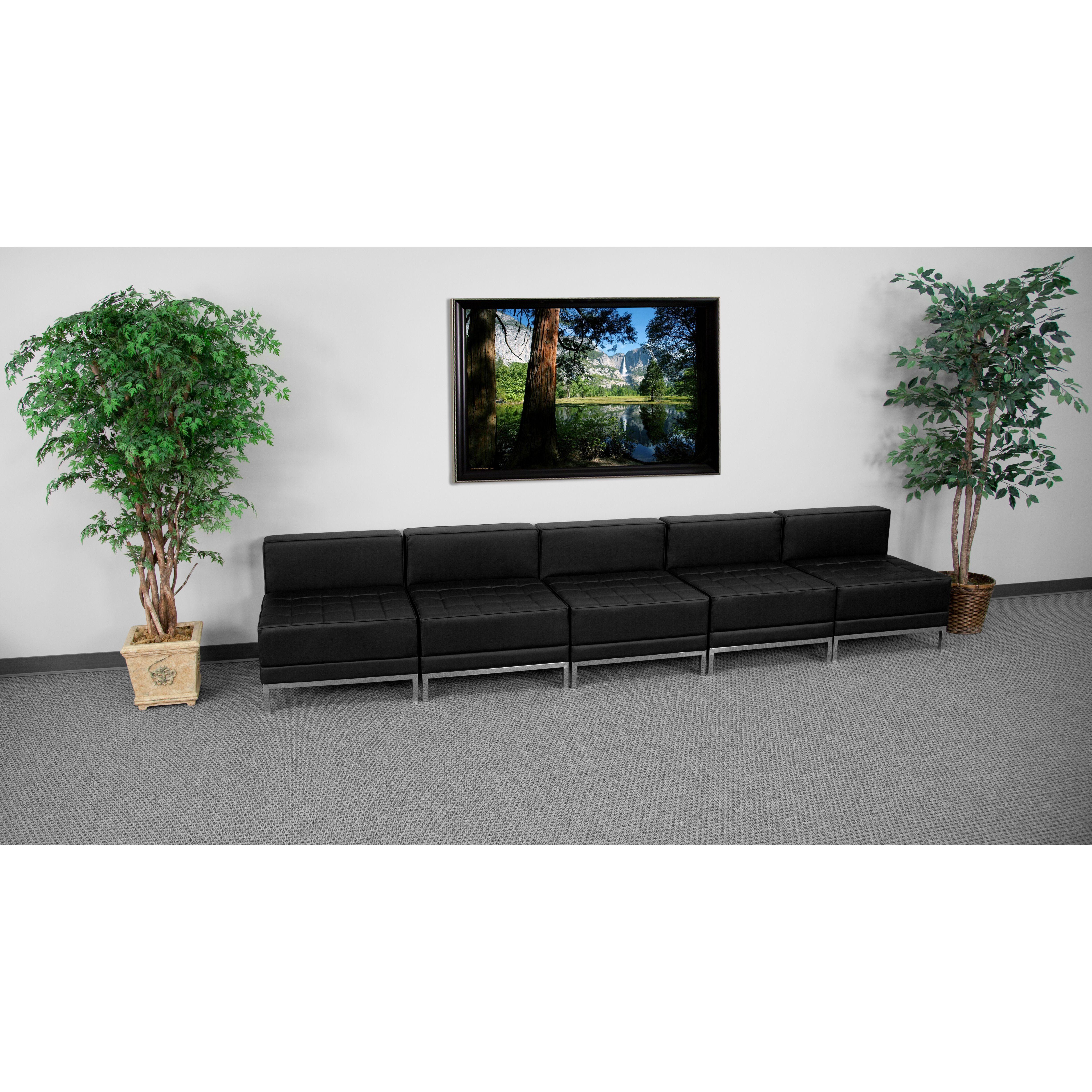 Flash Furniture ZB-IMAG-MIDCH-5-GG HERCULES Imagination Series Lounge Set, 5 Seats
