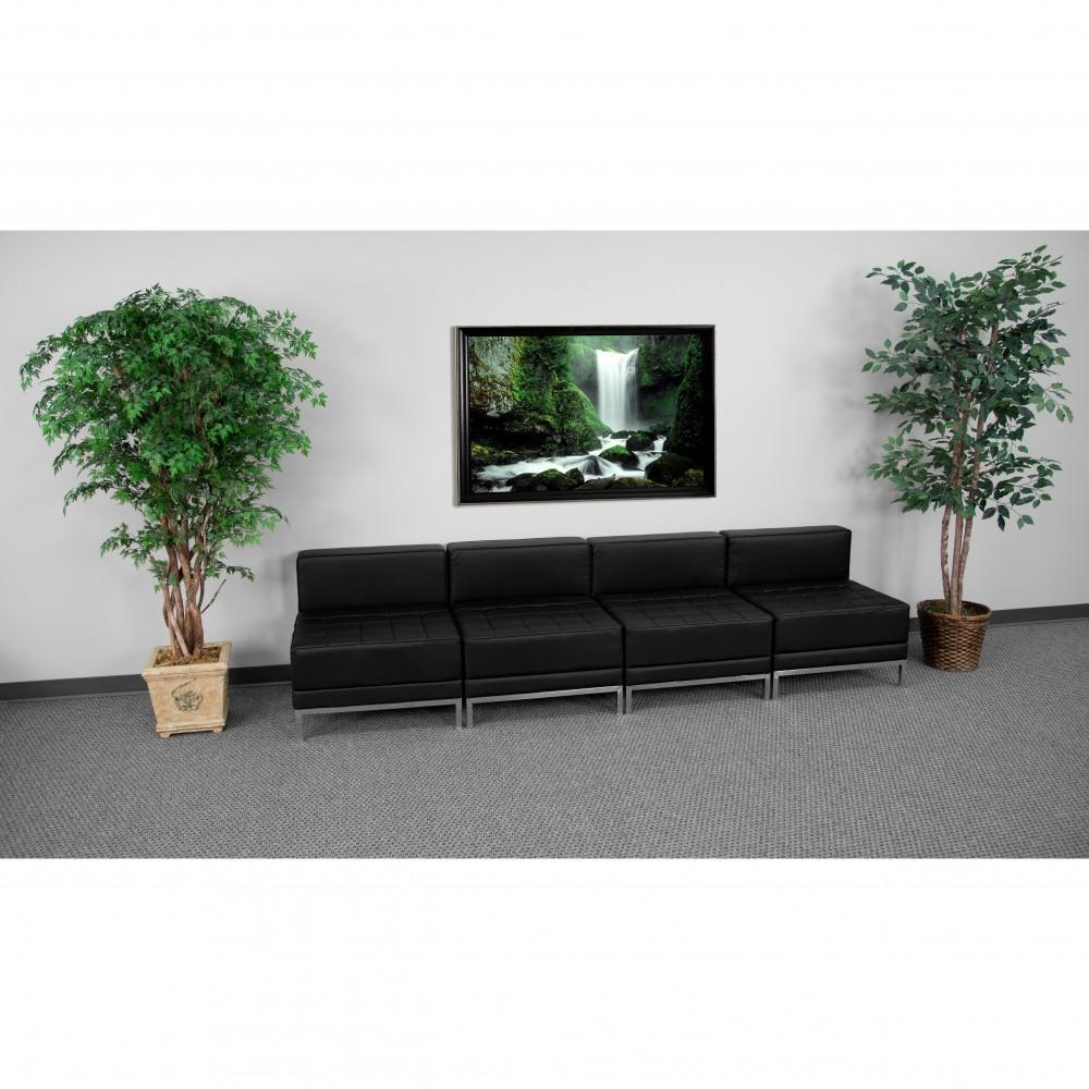 Flash Furniture ZB-IMAG-MIDCH-4-GG HERCULES Imagination Series Lounge Set, Four Seats