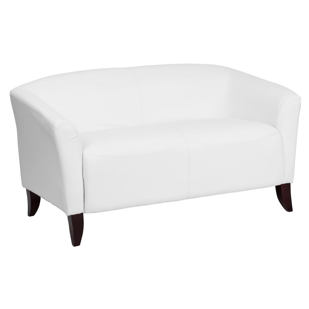 Flash Furniture 111 2 Wh Gg Hercules Imperial Series White Leather