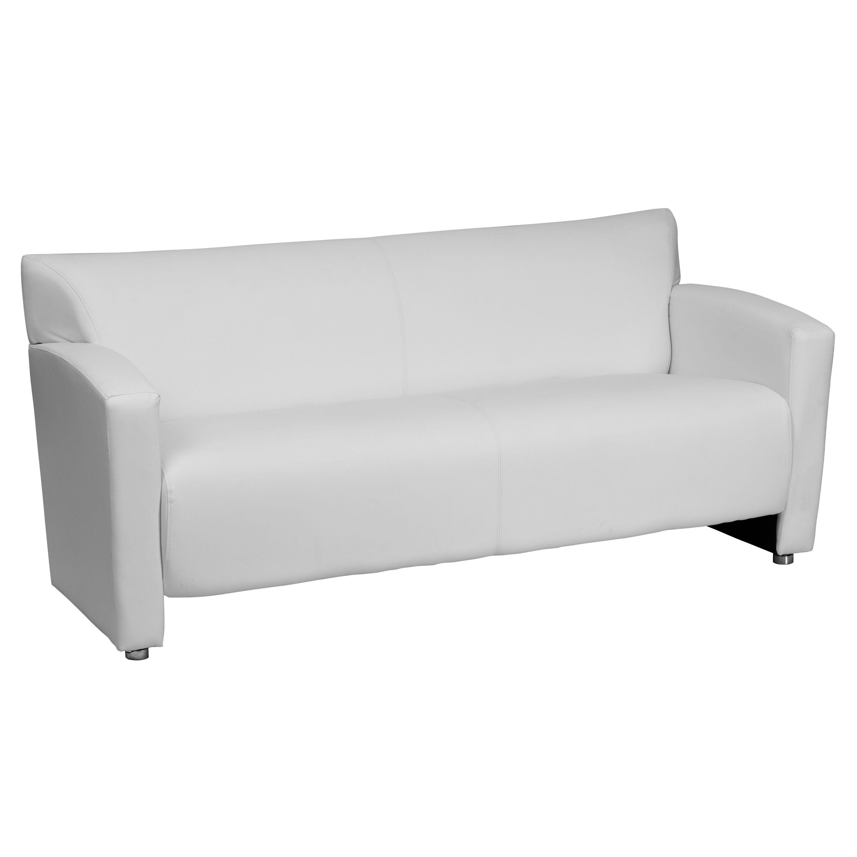 HERCULES Majesty Series White Leather Sofa