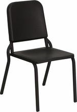 Flash Furniture HF-MUSIC-GG HERCULES Series Black High Density Music Stack Chair