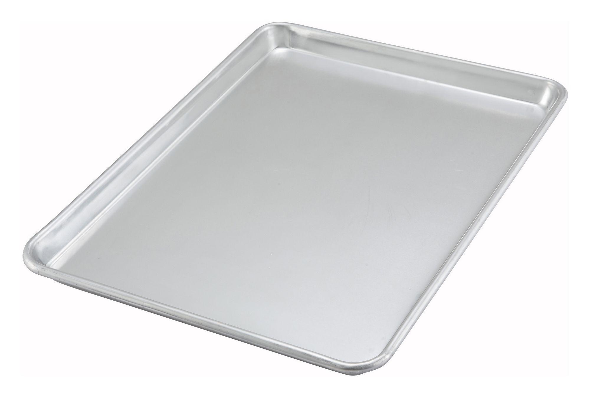 "Winco ALXP-1318 Half-Size Aluminum Sheet Pan, 13"" x 18"""