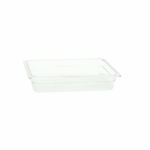 "Thunder Group PLPA8122 Half Size 2 1/2"" Deep Plastic Food Pan"