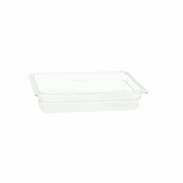 "Thunder Group PLPA8122 Half Size 2-1/2"" Deep Plastic Food Pan"