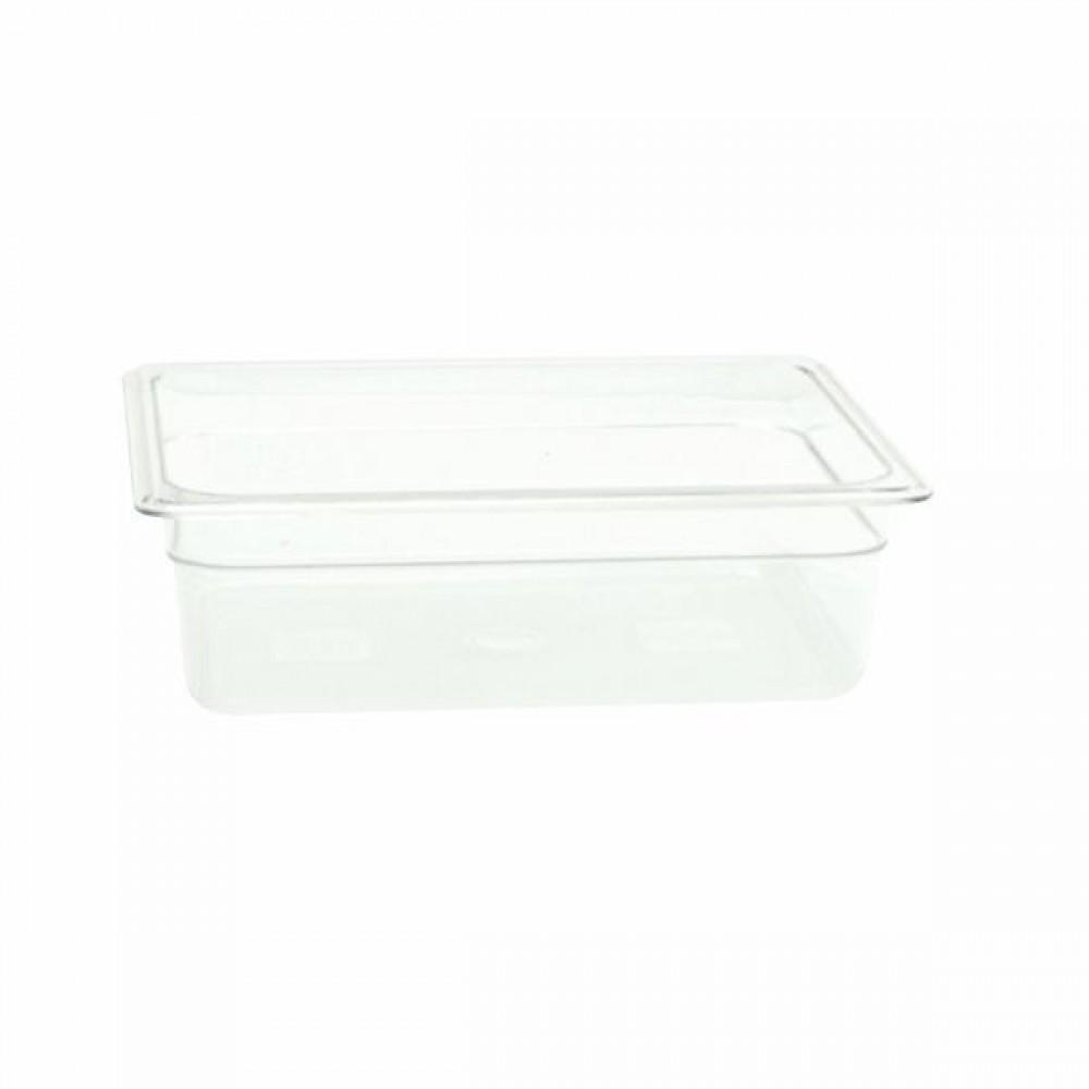 "Thunder Group PLPA8124 Half Size 4"" Deep Plastic Food Pan"