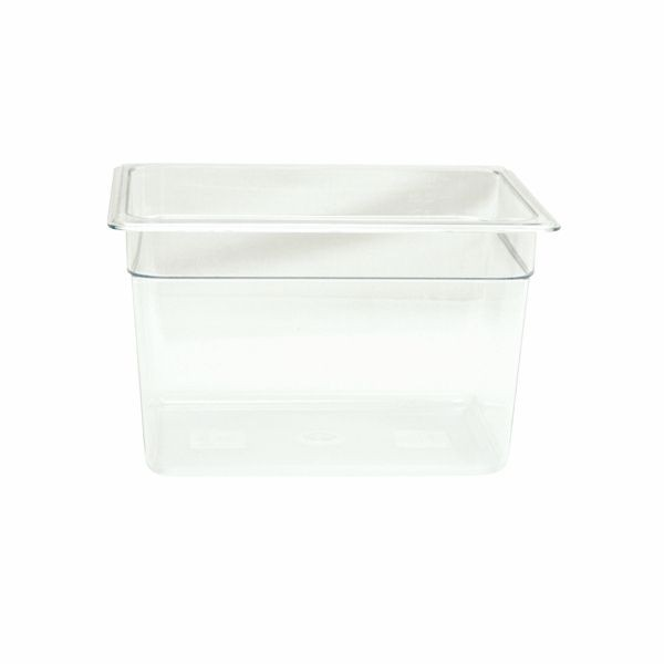 "Thunder Group PLPA8128 Half Size 8"" Deep Plastic Food Pan"