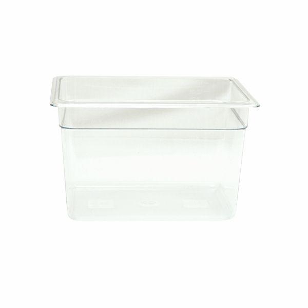 "Thunder Group PLPA8128 Half Size 8"" Deep Plastic Food Pan"