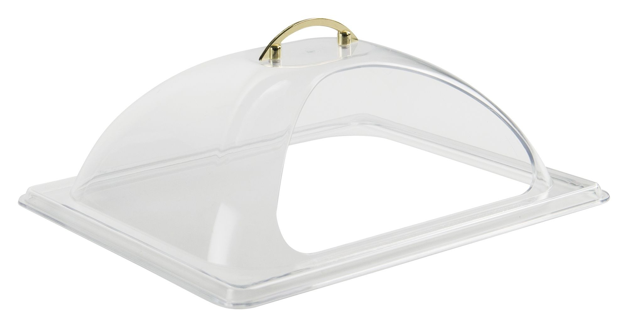 Half Size Polycarbonate Dome Cover, w/Side Cut