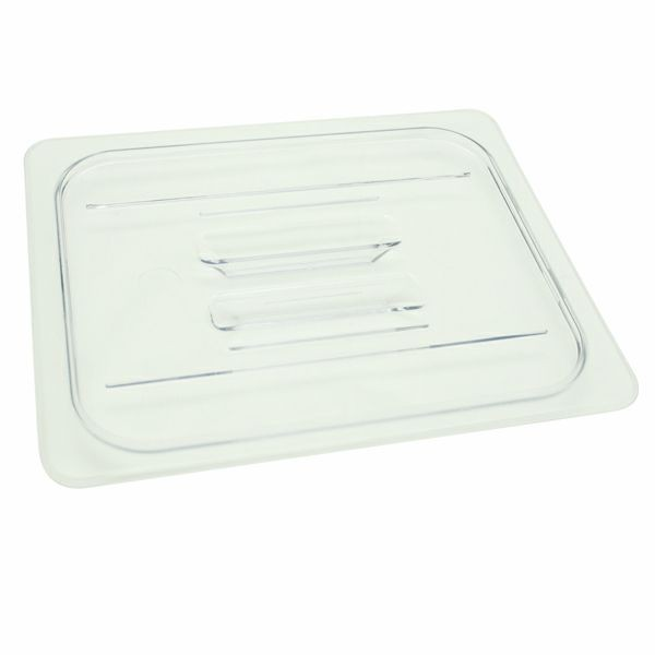 Thunder Group PLPA7120C Half Size Solid Cover for Polycarbonate Food Pan