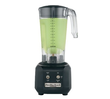 Hamilton Beach HBB250R Commercial Rio Bar Blender 3/4 HP, 44 oz.