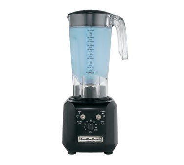 Hamilton Beach 1 HP High-Performance Blender, 2 Speeds, Pulse, Variable Timer, 48 oz Polycarbonate