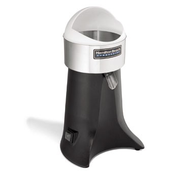 Hamilton Beach Electric Juicer 3/8 HP, 3 Reinforced Reamer Sizes, Quiet Motor, Low Center of Gravity