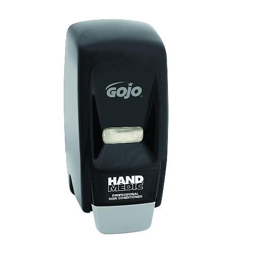 Hand Medic 500 ml Hand Soap Dispenser 4.5 X 4.13 X 11, Wall Mount, Black