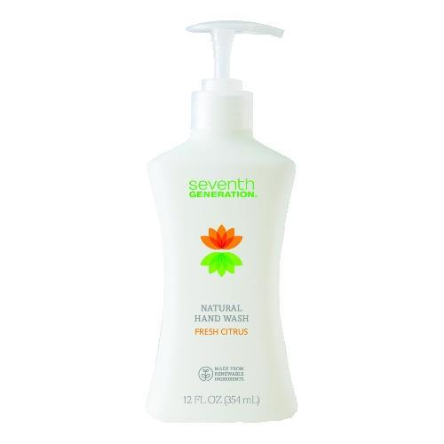 Hand Soap, Fresh Citrus Scent, 12 oz. Pump Bottle