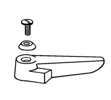 Franklin Machine Products  111-1147 Handle, Cold (with Screw & Button )