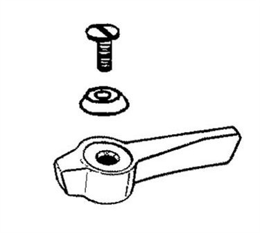 Franklin Machine Products  106-1147 Handle (Kit, Hot/Cold, with Screws )