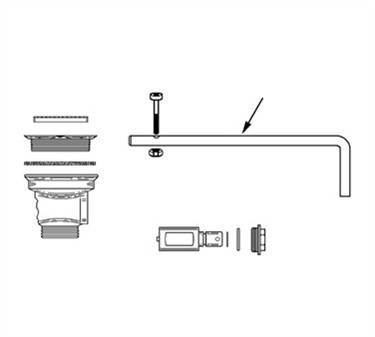 Handle, Lever Waste (Fisher )