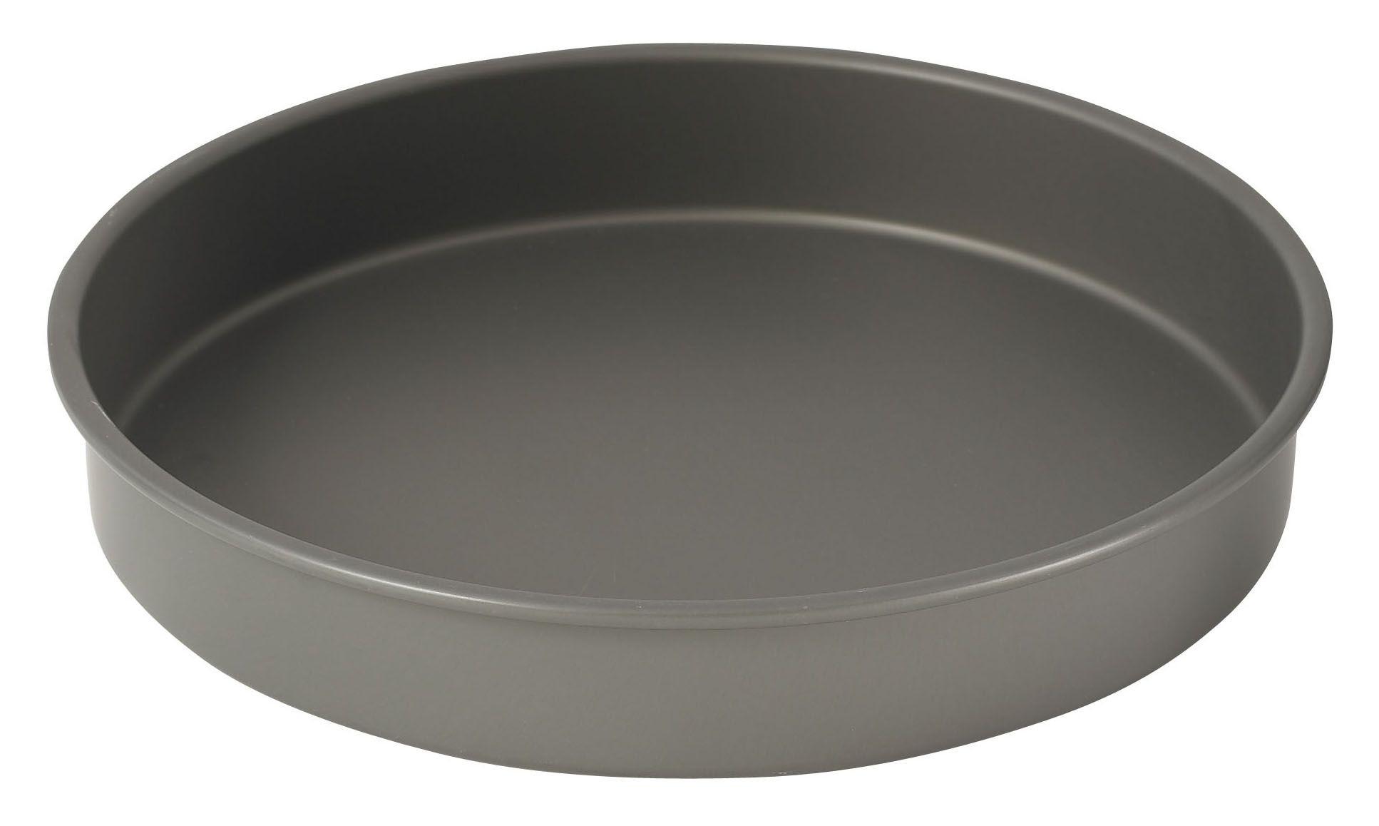 "Winco HAC-122 Hard Anodized Aluminum Cake Pan, 12"" Dia x 2"" H"
