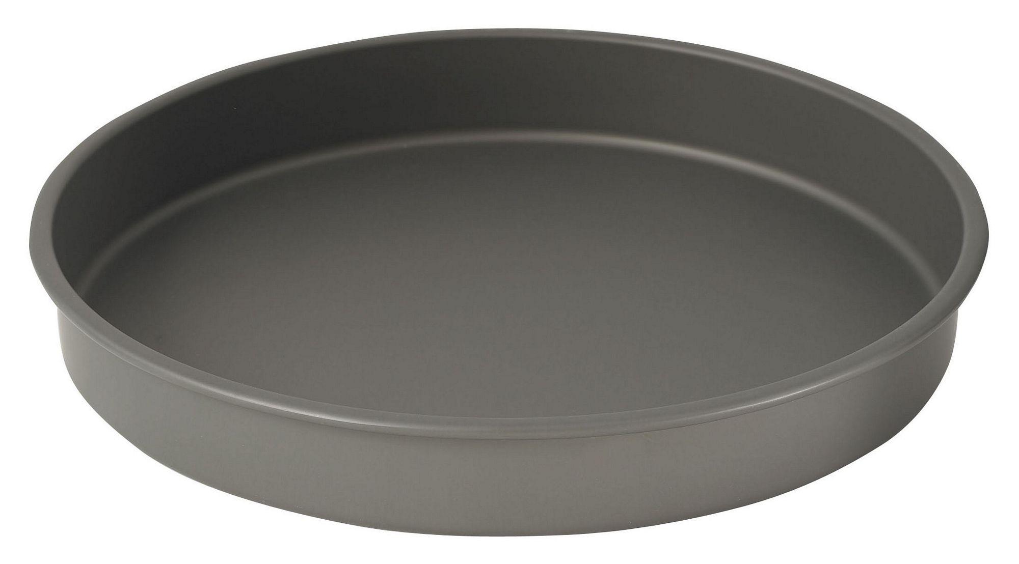 "Winco HAC-142 Hard Anodized Aluminum Cake Pan, 14"" Dia x 2"" H"