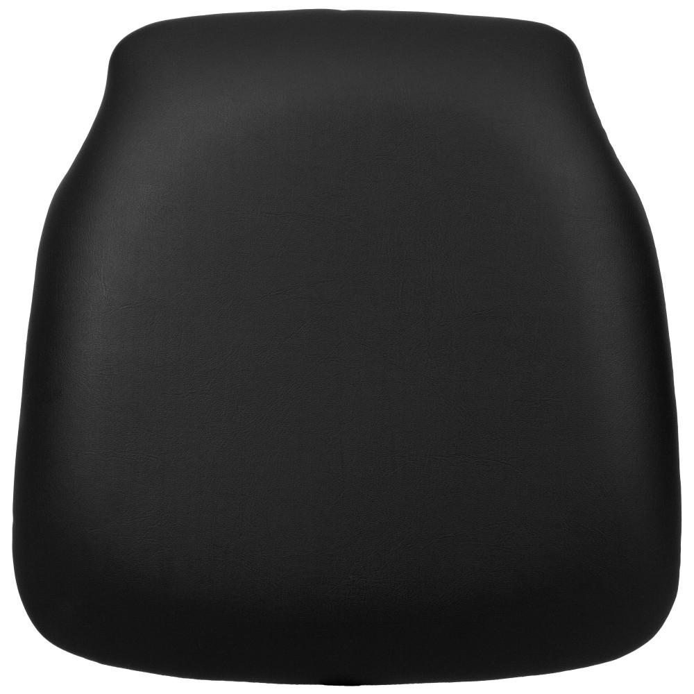 Hard Black Fabric Chiavari Chair Cushion for Wood Chiavari Chairs