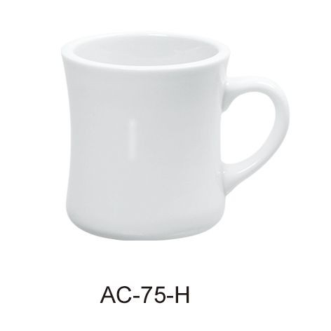 Yanco AC-75-H Abco Hartford Mug White 8 oz.
