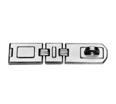Franklin Machine Products  134-1027 Hasp, Flex (Triple Joint, 7-3/4 )