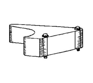 Franklin Machine Products  258-1022 Head, Carrier (3/16, 3/8)