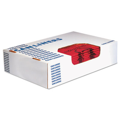 Healthcare Biohazard Printed Can Liners, 10 gal, 1.3 mil, 24