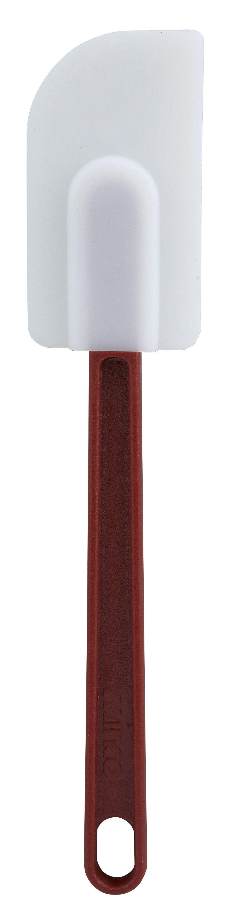 """Winco PSD-10 Silicone Economy Heat-Resistant Scraper 10"""""""