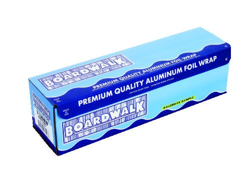 Heavy-Duty Aluminum Foil Roll, 18 in. x 1000 ft., Silver