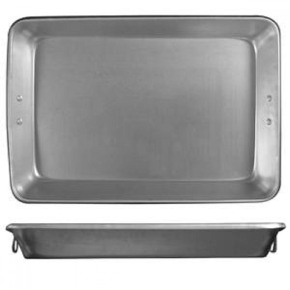 Heavy Duty Aluminum Roasting Pan W/Side Handles 26