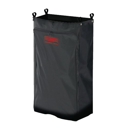 Heavy-Duty Fabric Bag, Medium, Black