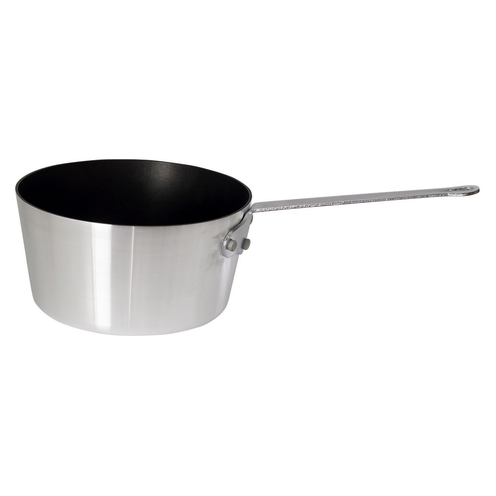 Heavy Duty Non-Stick Aluminum Sauce Pan, 4 1/4 Quart