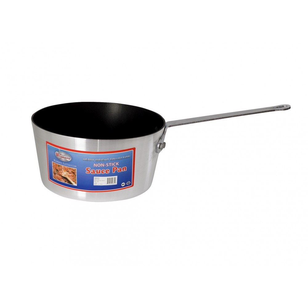 Heavy Duty Non-Stick Aluminum Sauce Pan, 5 Quart