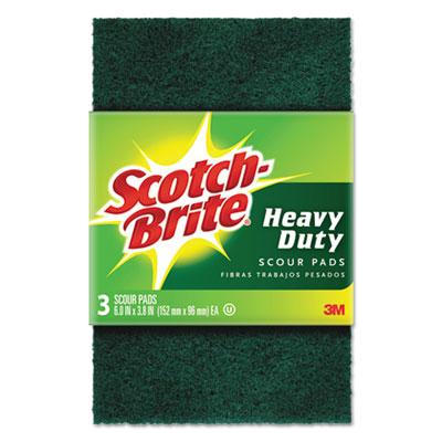 Heavy-Duty Scour Pad, 3 4/5