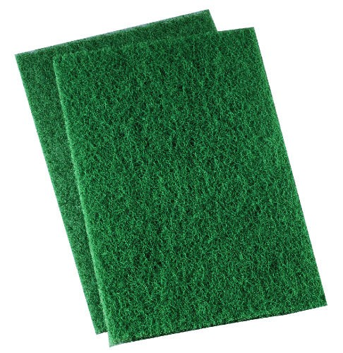 Heavy-Duty Scour Pad, 6 X 9, Green
