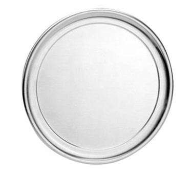 "Franklin Machine Products  137-1032 Heavy-Duty Shallow Aluminum Pizza Pan 14"" Dia."