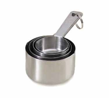 Heavy Duty Stainless Measuring Cup Set - 1/4, 1/3, 1/2, & 1 Cup