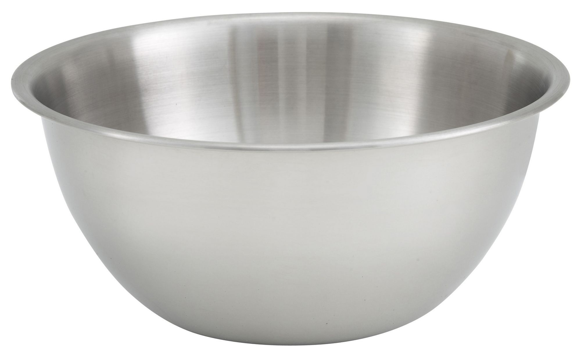 Winco MXBH-1300 Heavy Duty Stainless Steel 13 Qt. Mixing Bowl