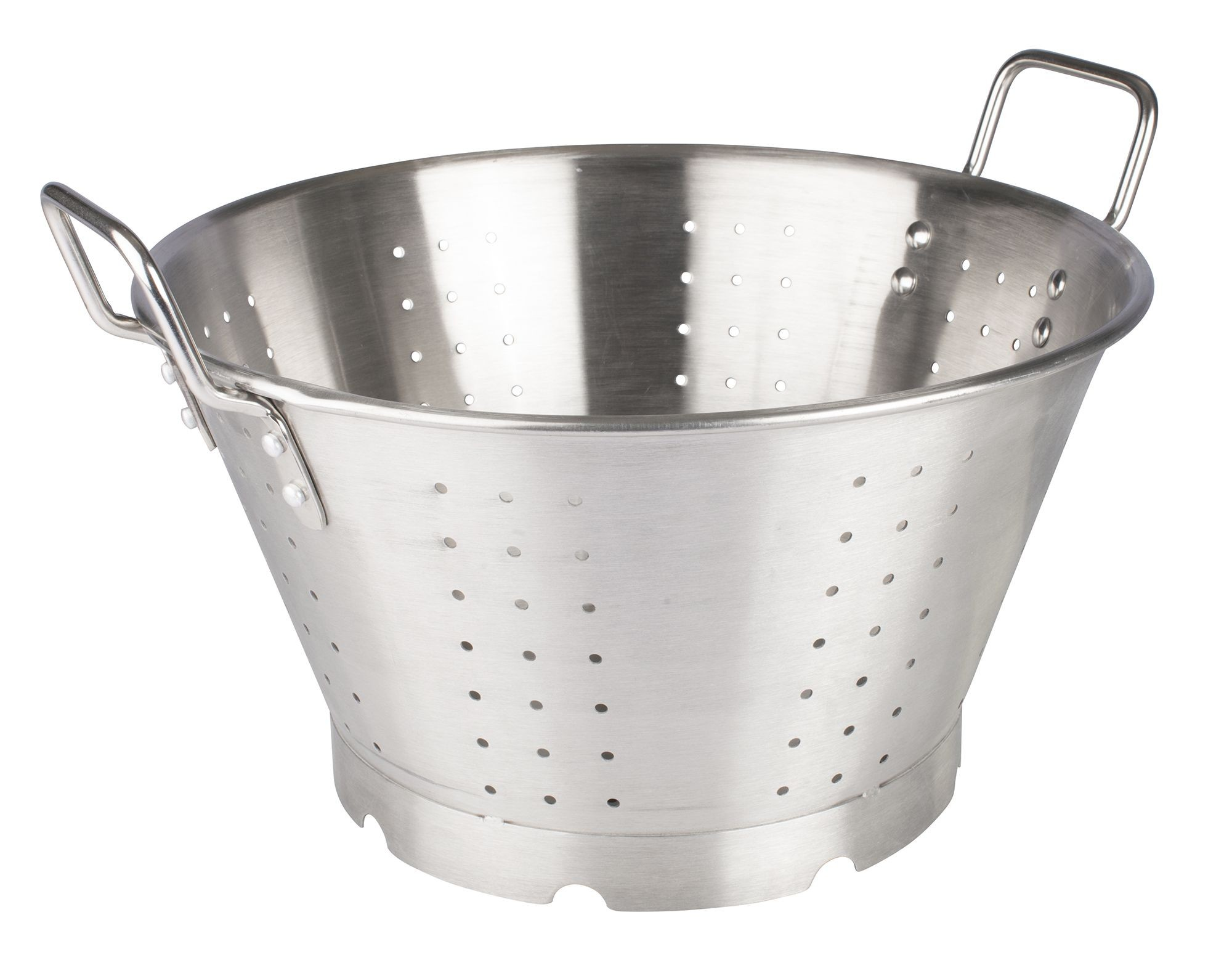 Heavy Duty Stainless Steel Colander, 16Qt, 16-1/2