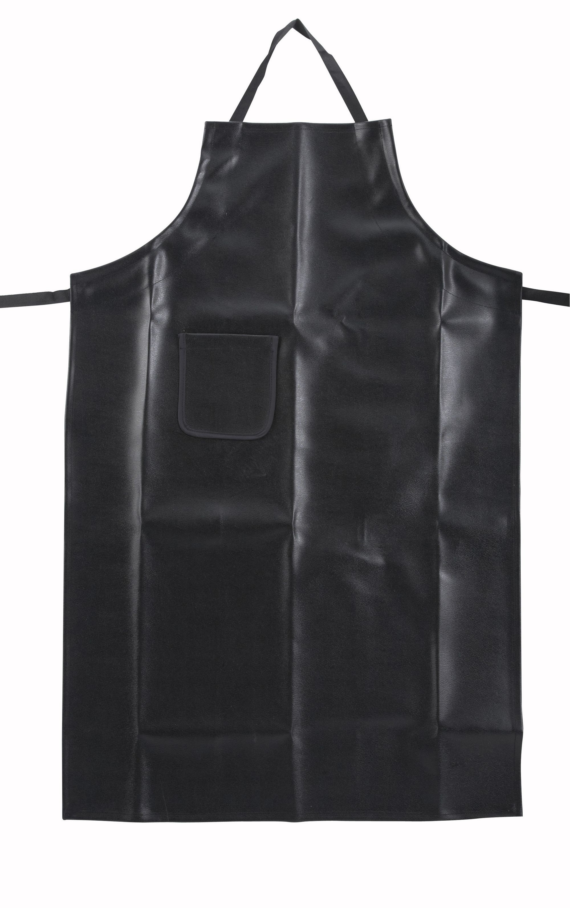 "Winco BA-HN Full Length Heavy Naugahyde Bib Apron 41-1/4"" x 26-1/2"""