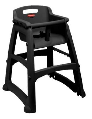 Hi Chair W/O Wheels Bla0