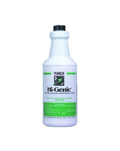 Hi-Genic Non-Acid Toliet Bowl/Bathroom Cleaner, 32 Oz Bottle