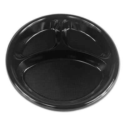Hi-Impact Plastic Dinnerware, Plate, 10