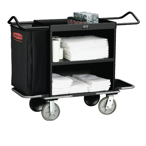 High Capacity Housekeeping Cart