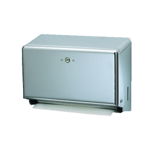 High Capacity Mini C-Fold & M-Fold Hand Towel Dispenser, 11-1/8W, Chrome