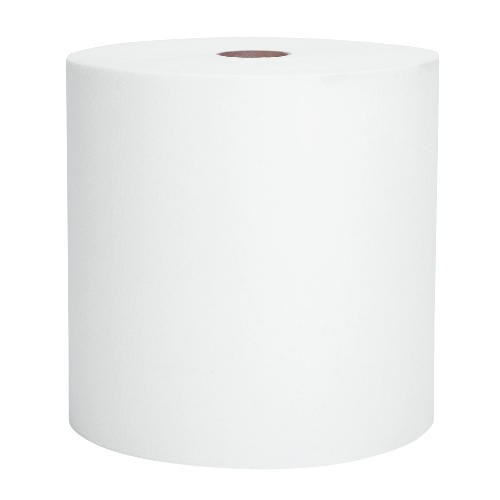 High Capactiy, Hard Paper Towel Roll, White, 7.87